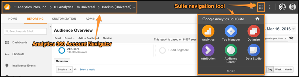 Google Analytics 360 Suite Nav 5
