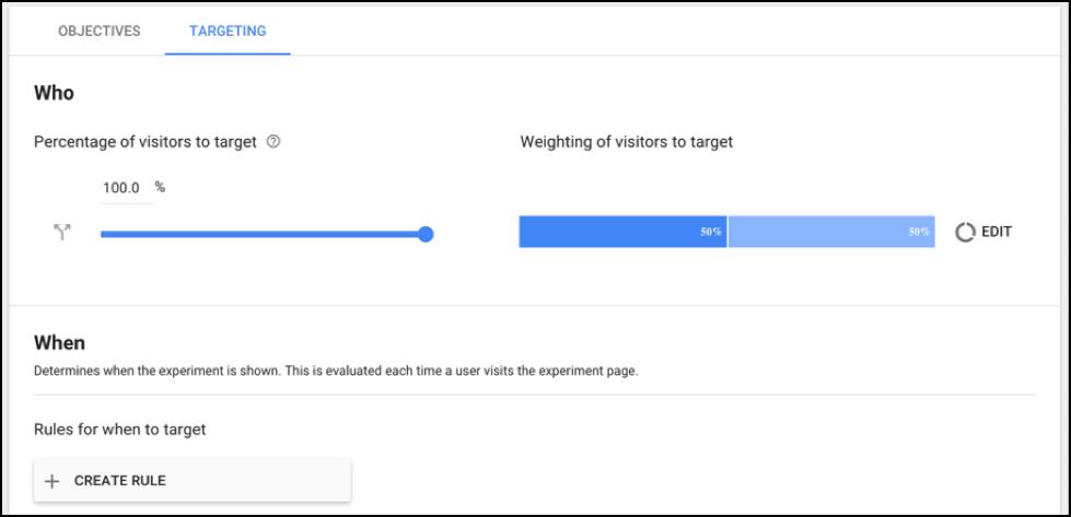 Google Optimize Targeting 5