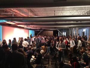 Packed Crowd a Google Analytics Summit